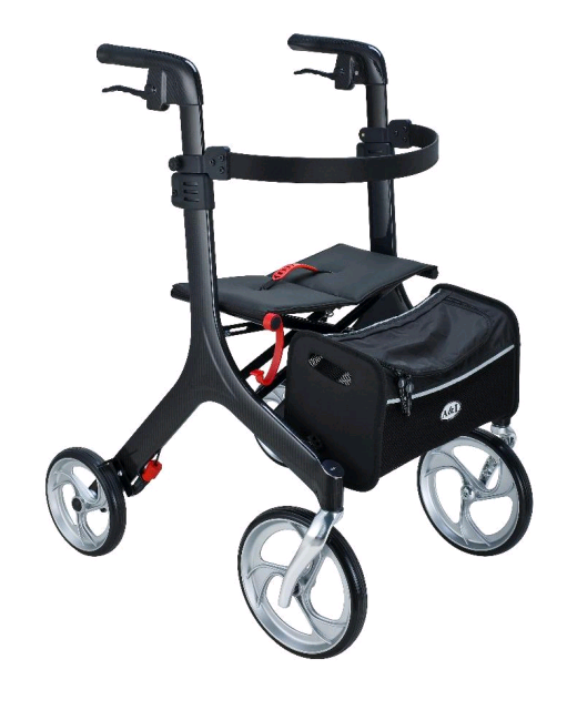Peak Care Ellipse Super Lite Carbon Fibre Rollator