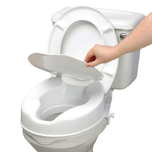 Toilet Seat Raiser With Lid