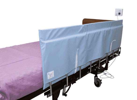 Patient Handling Bed Rail Protector