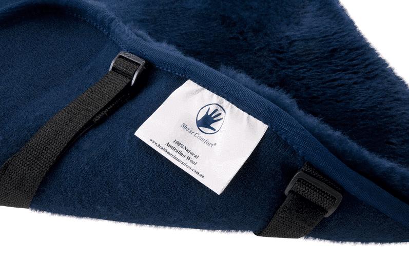 Shear Comfort Sheepskin Cushion It