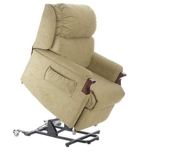 Oscar Brumby Lift Chair - lifted