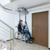 Hogg RL60 Wheelchair Stair Lift