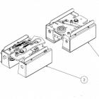 Molift Ceiling Hoist Transition Coupling Unit Set