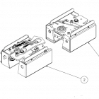 Molift Ceiling Hoist Traverse Mounting Kit for Boxed Traverse