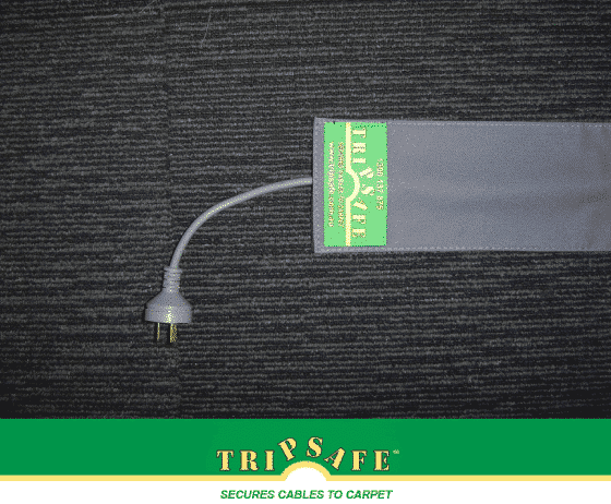 Tripsafe Cable Cover for Carper - 1.8 M - grey