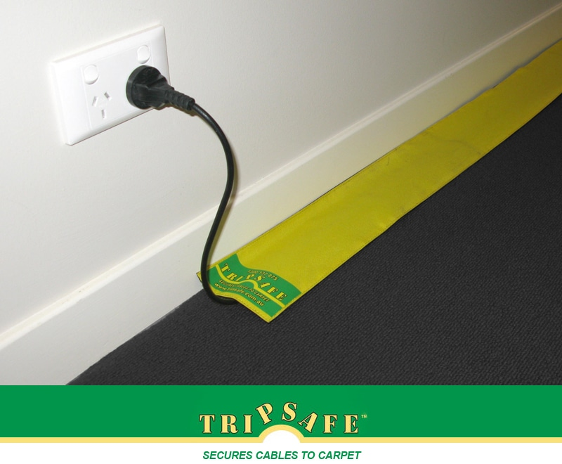 Tripsafe Cable Cover for Carpet - 10m