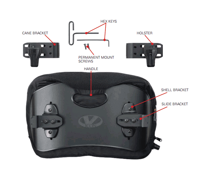 Varilite Icon Low Back Support