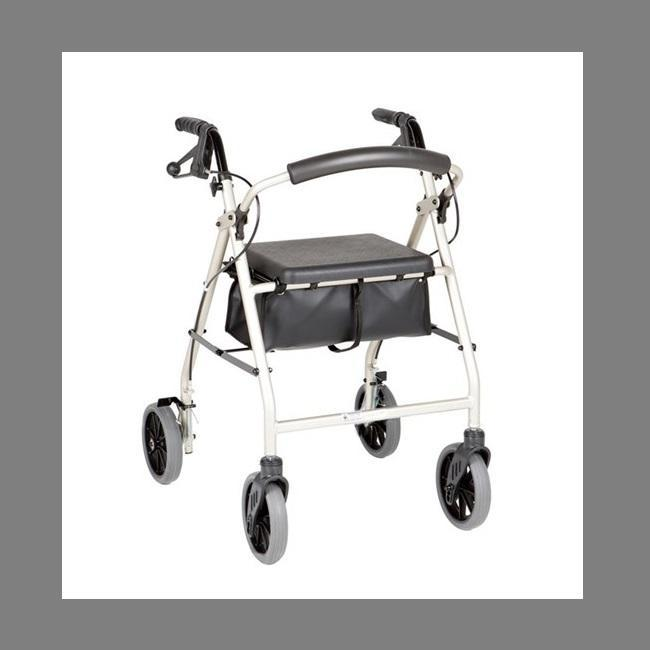 "Peak Care Ellipse 8"" Rollator"