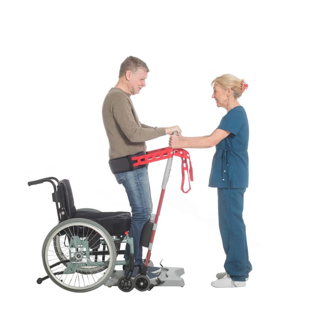 Molift Raiser Belt from wheelchair