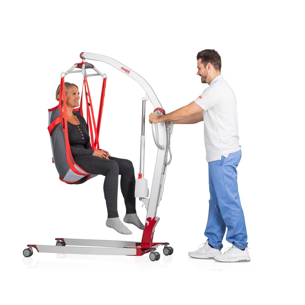 Molift Mover 180 user and carer