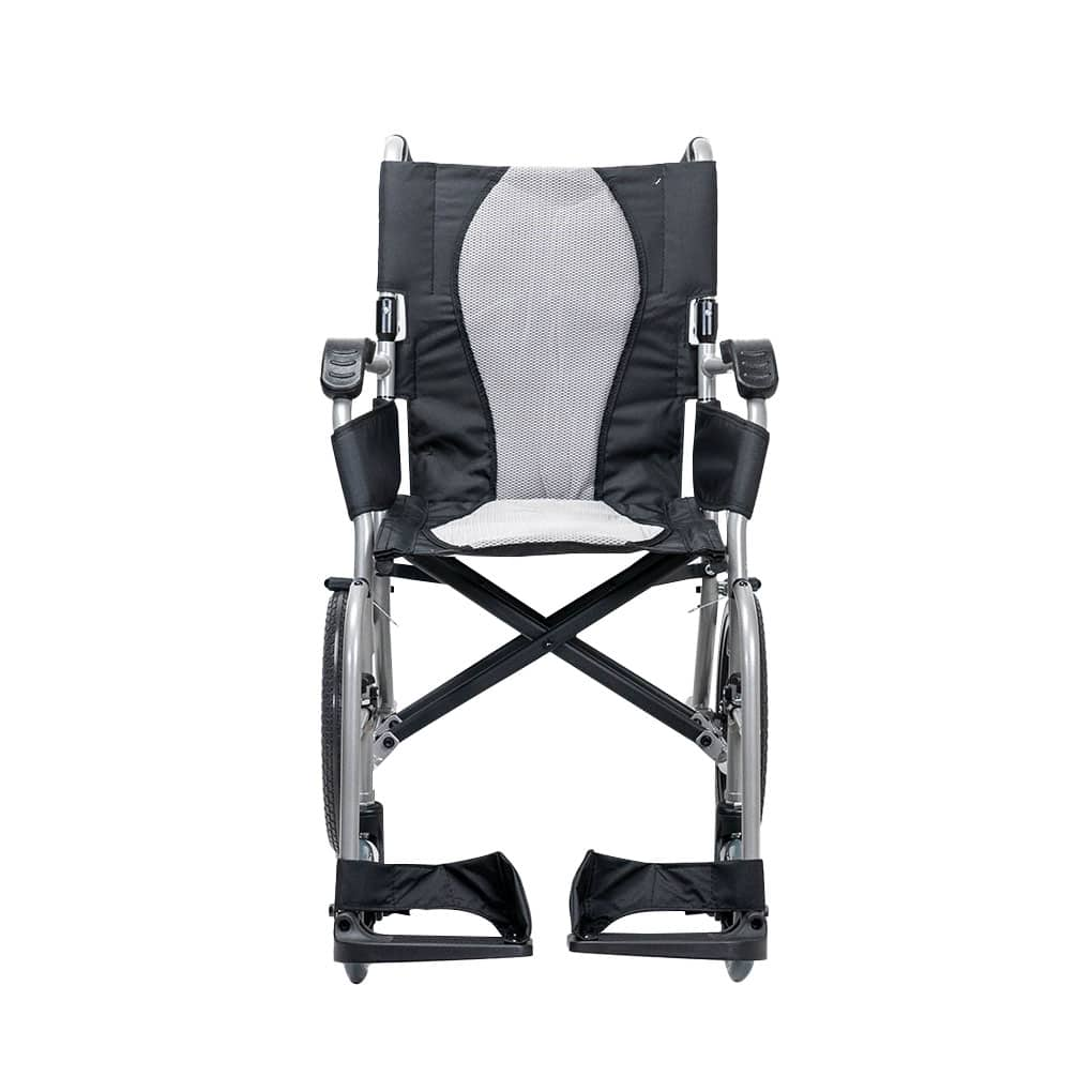Karma Ergo Lite Deluxe Attendant Propelled - Front view
