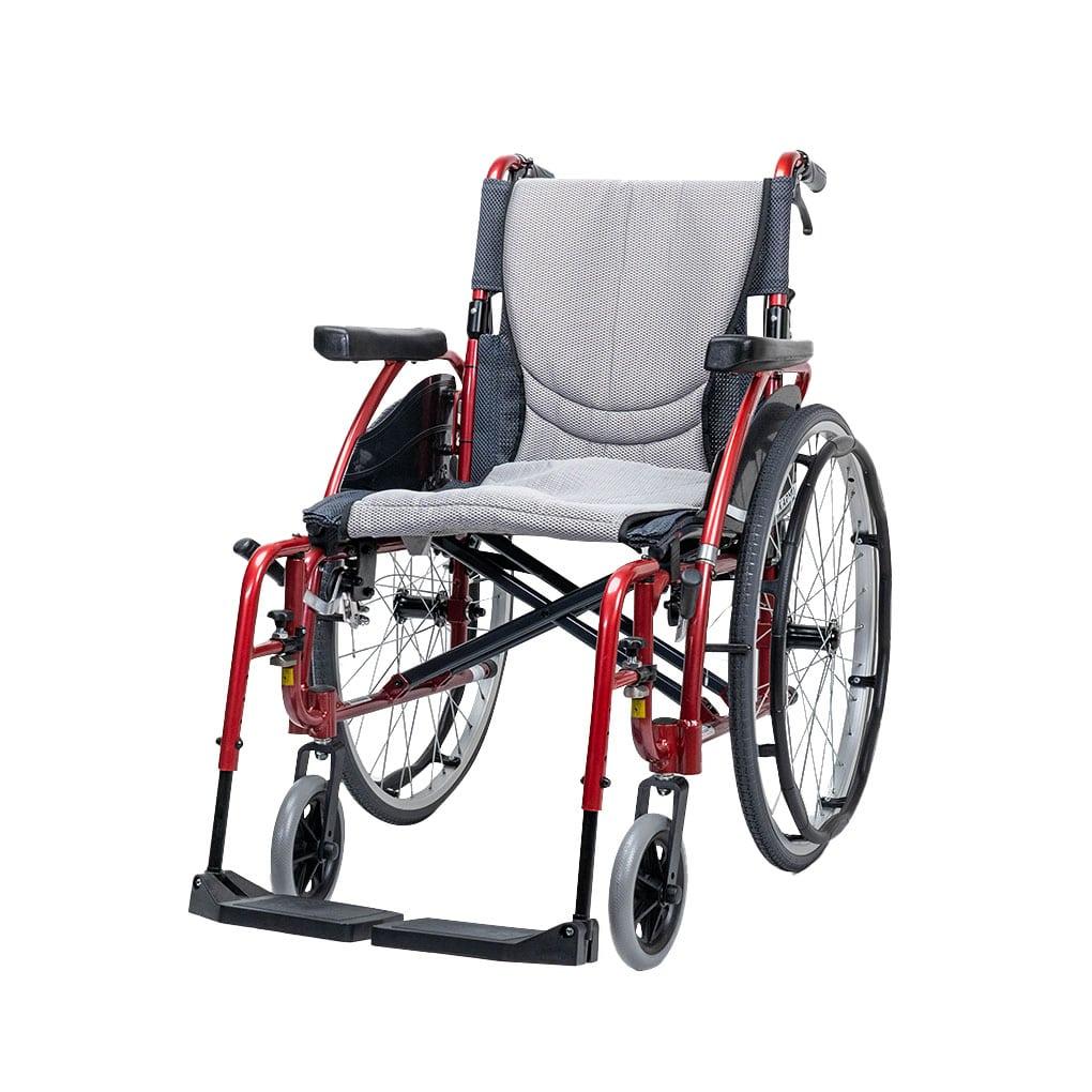 Karma S-Ergo 125 Self Propel Wheelchair - Side angle
