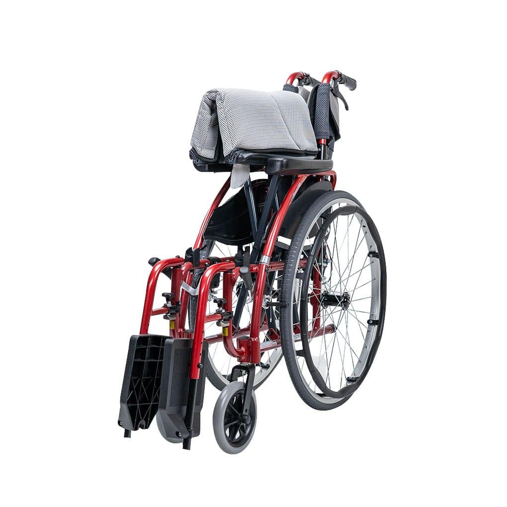 Karma S-Ergo 125 Self Propel Wheelchair - Folded