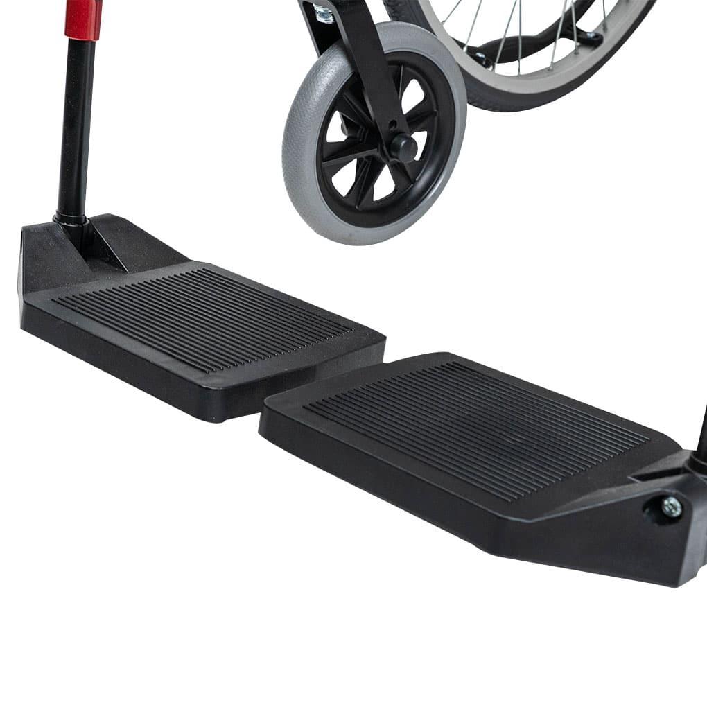 Karma S-Ergo 125 Transit Wheelchair - Folding footrest