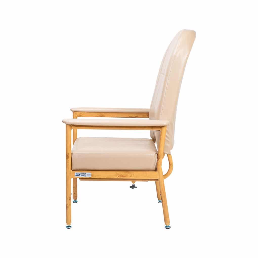 Murray Bridge High Back Chair - Side view