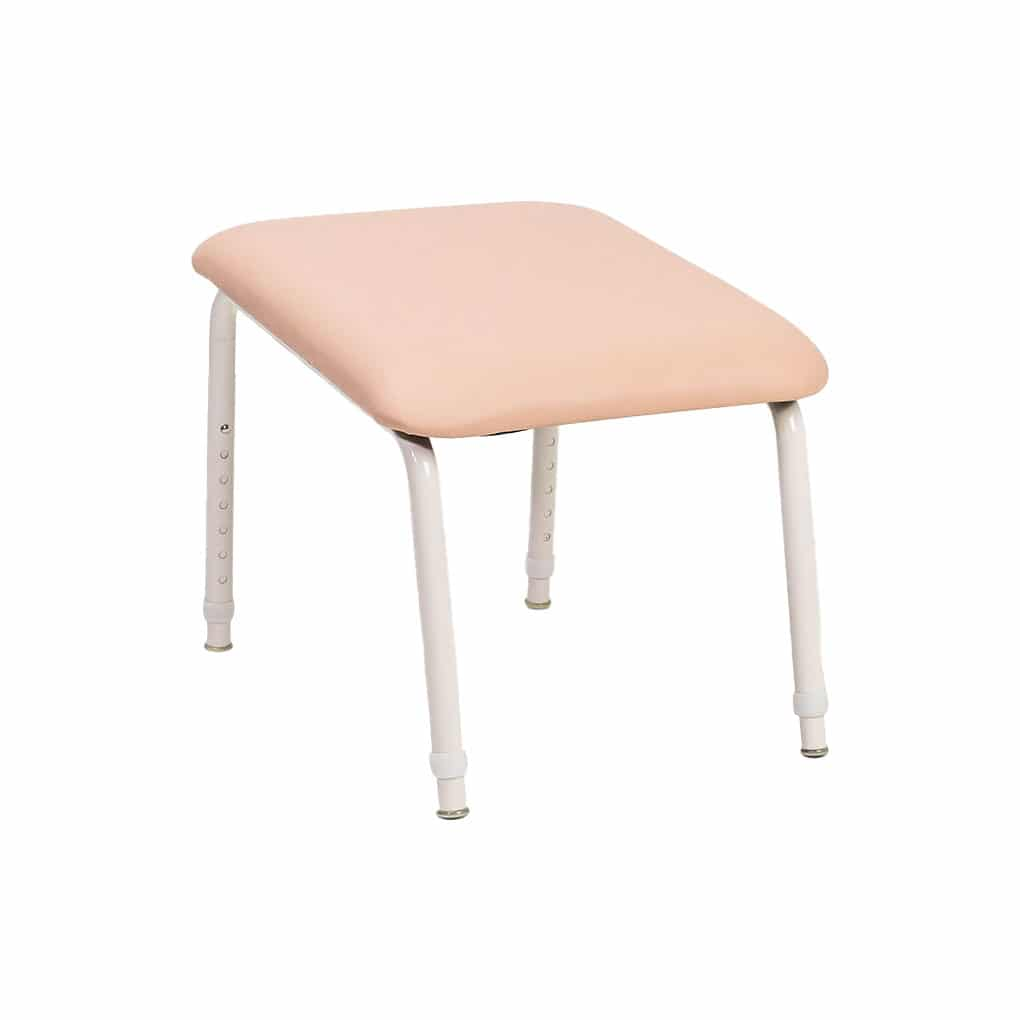 Padded Foot Stool - Fawn