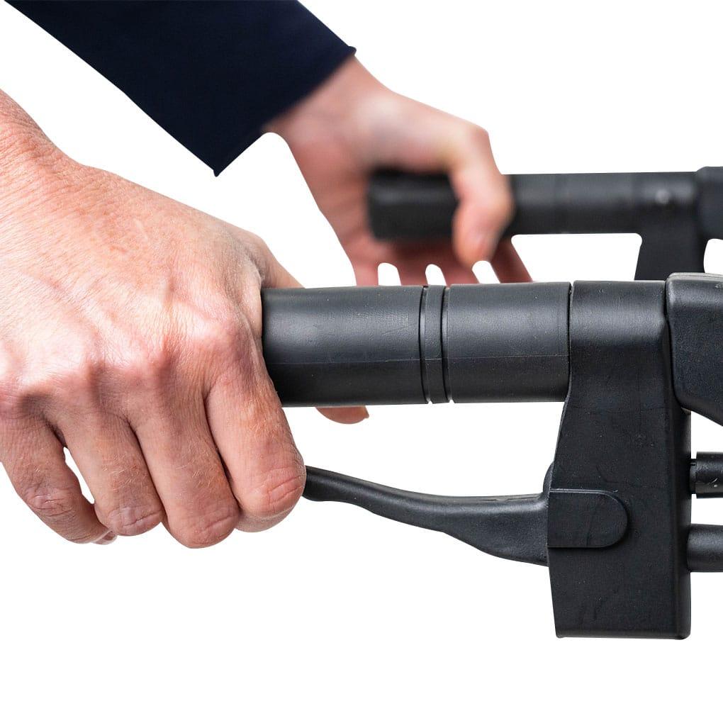 Peak Ellipse Carbon Fibre Rollator - Lockable brakes