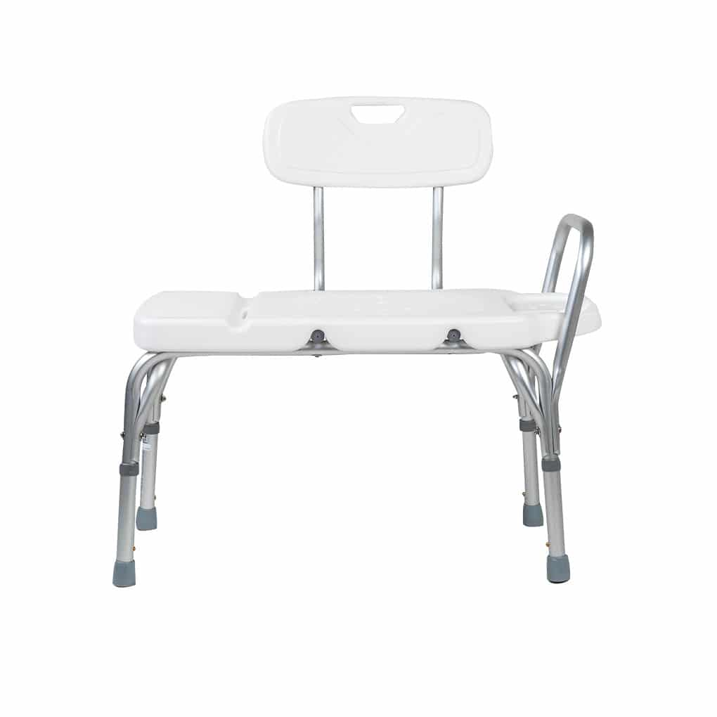 Peak Transfer Bath Bench with Back
