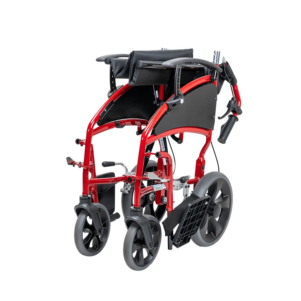Peak Venus Transit Wheelchair - Side folding with foldable backrest