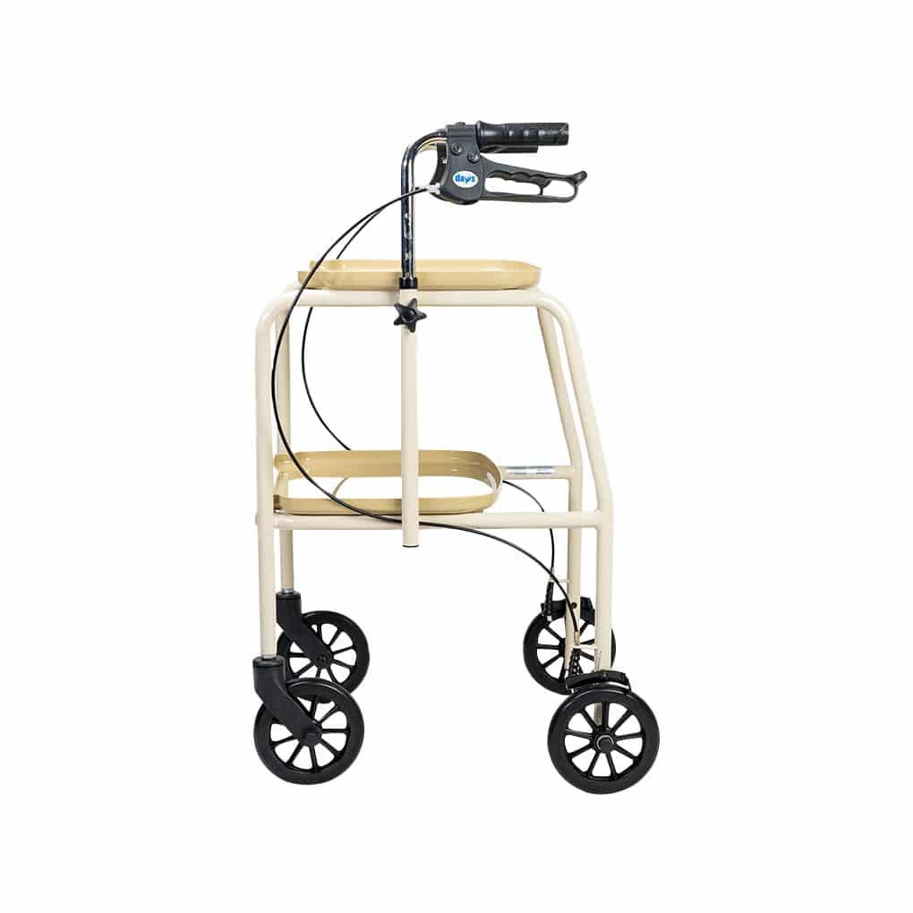 Performance Health Adjustable Height Trolley Walker