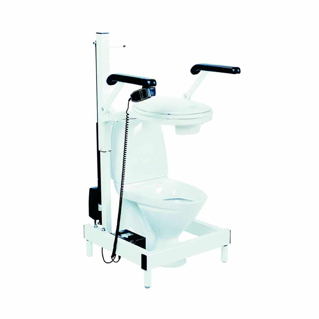 TA Toilet Lifter - elevated