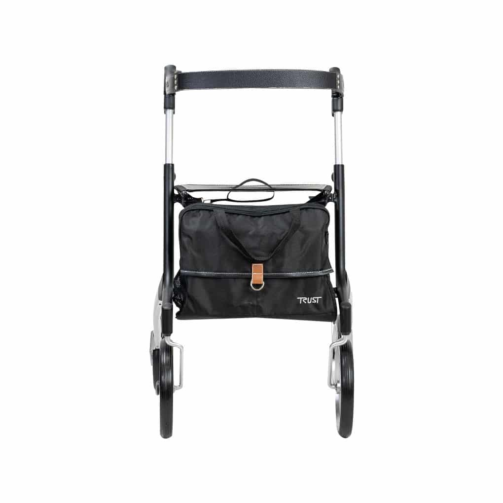 Trust Care Rollator Black - Front View