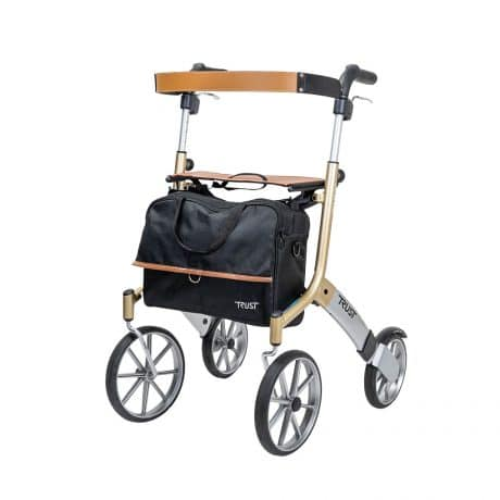 Trust Care Let's Go Out Rollator - Side Angle