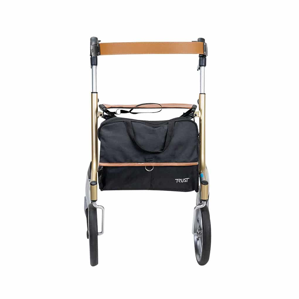 Trust Care Let's Go Out Rollator - Front View