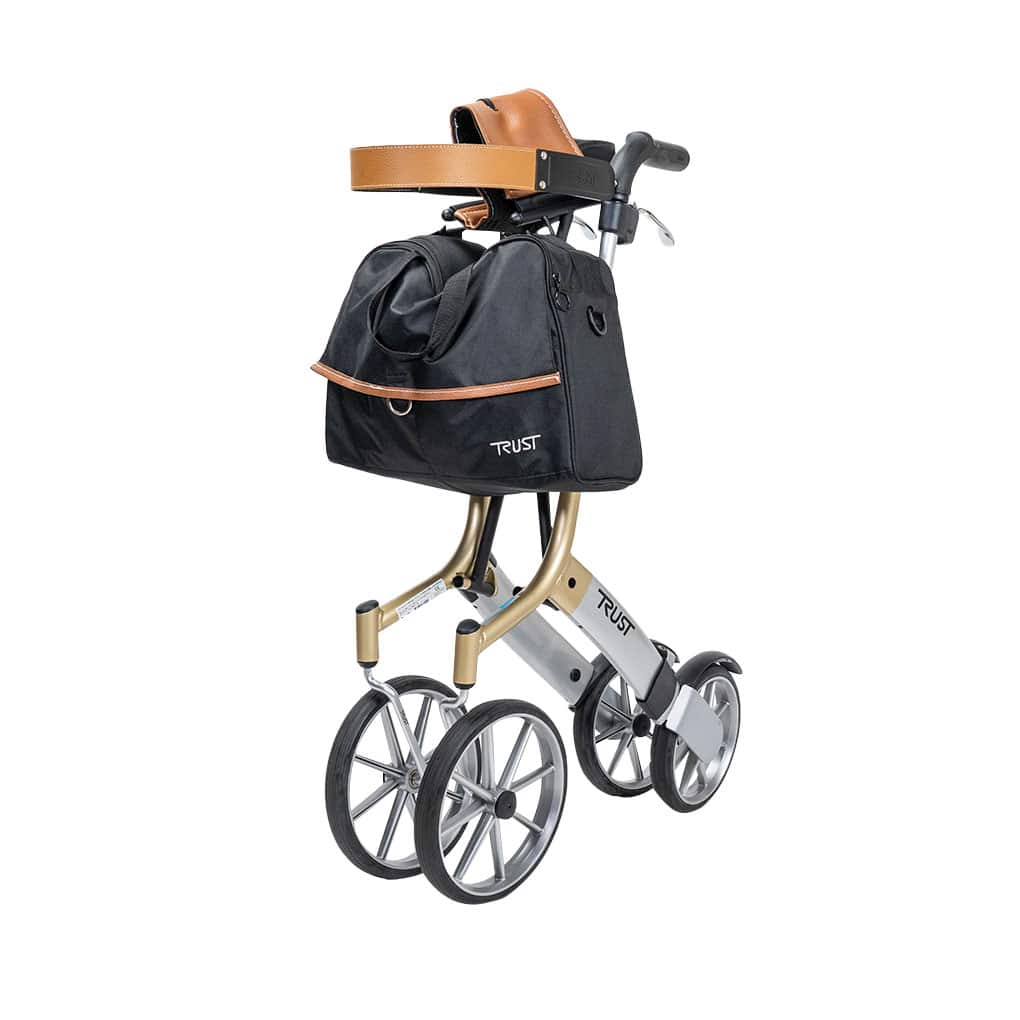 Trust Care Let's Go Out Rollator - Side Folding