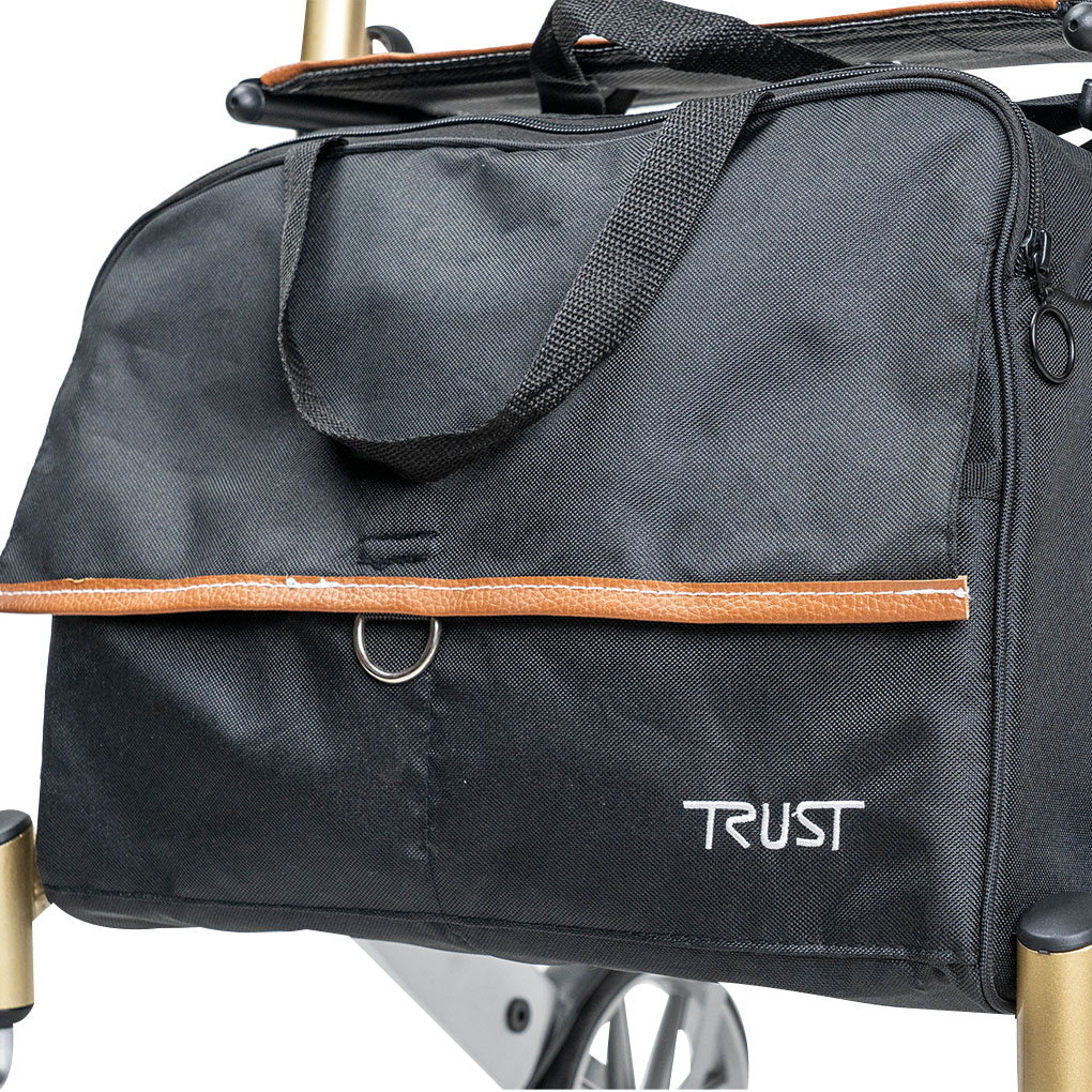Trust Care Let's Go Out Rollator - Removable carry bag