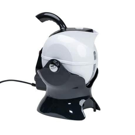Uccello Tipping Kettle - Black and White