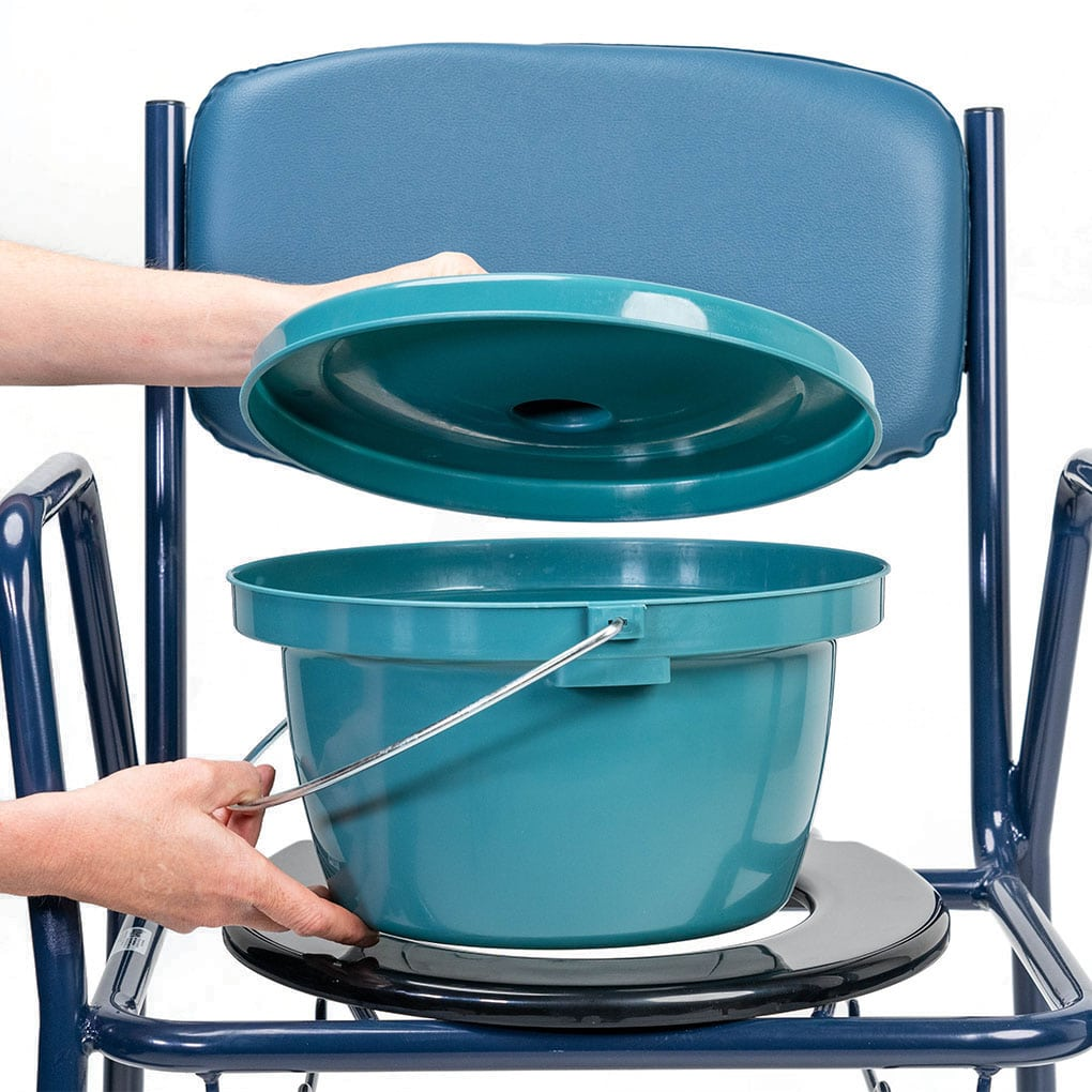 Days Economy Commode - Lid Lifted