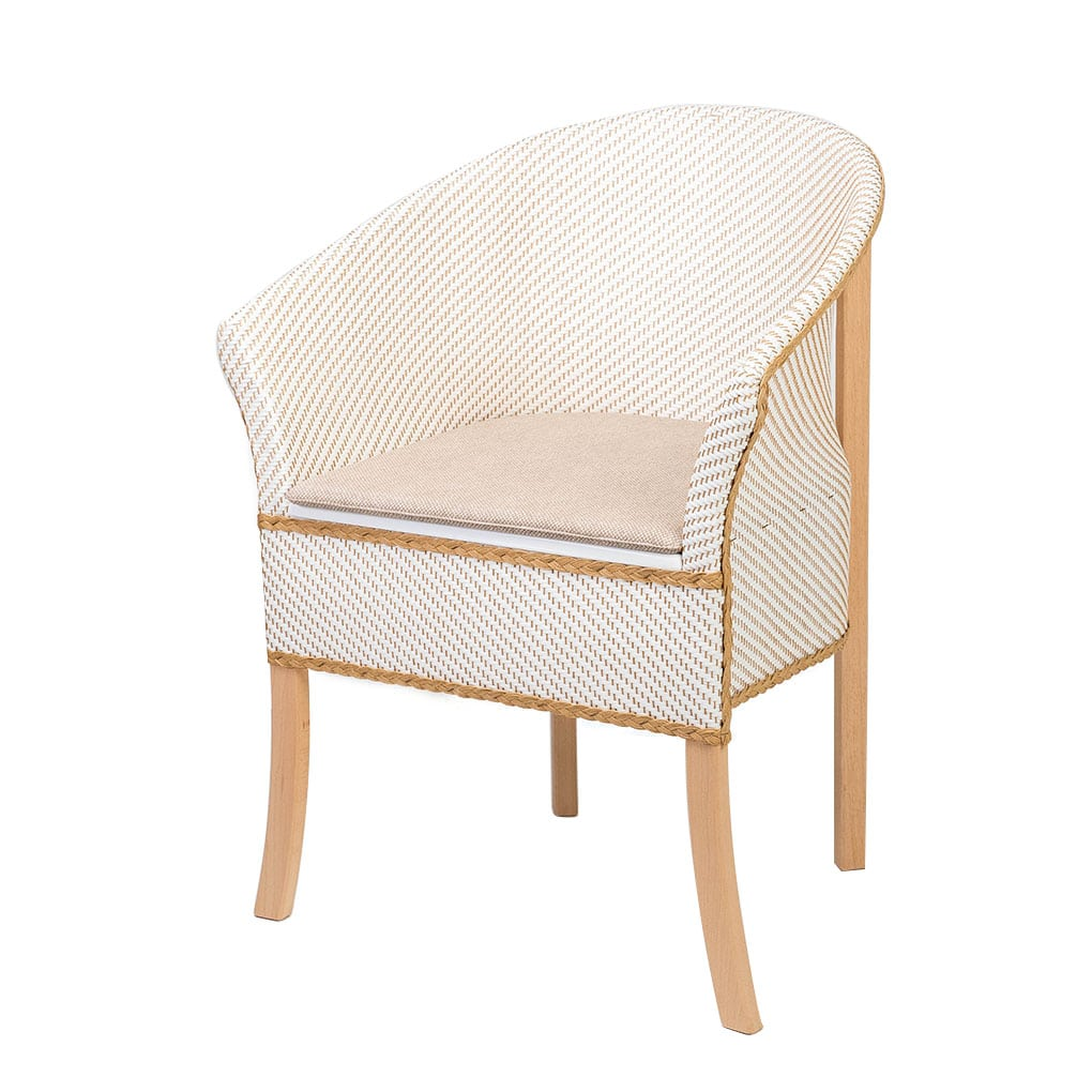 Care Quip Deluxe Basketweave Bedside Commode