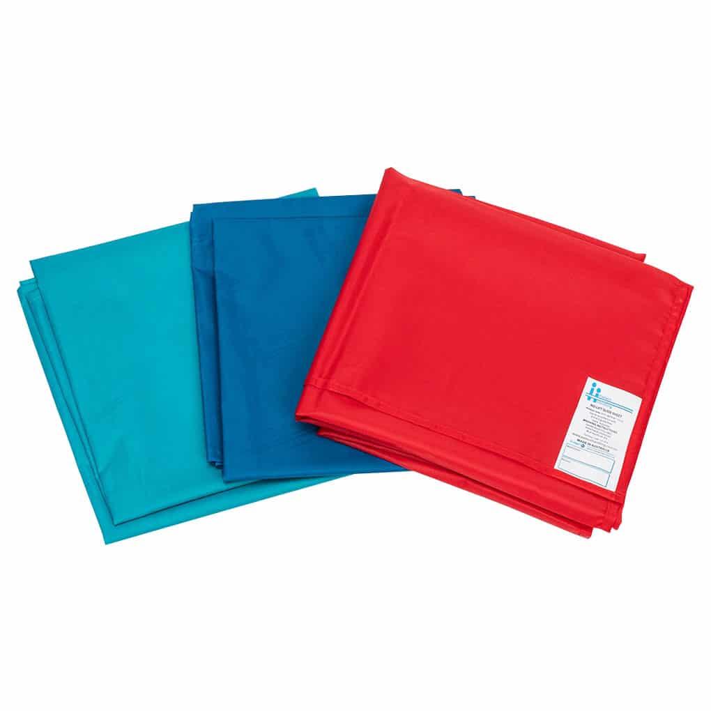 Patient Handling Slide Sheet - Above Angle 3 colours