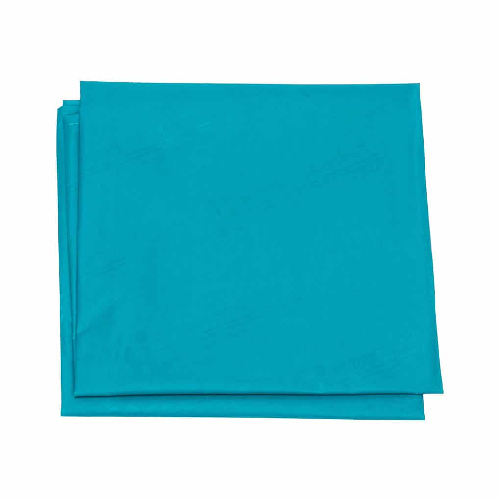 Patient Handling Slide Sheet - Aqua Top Angle