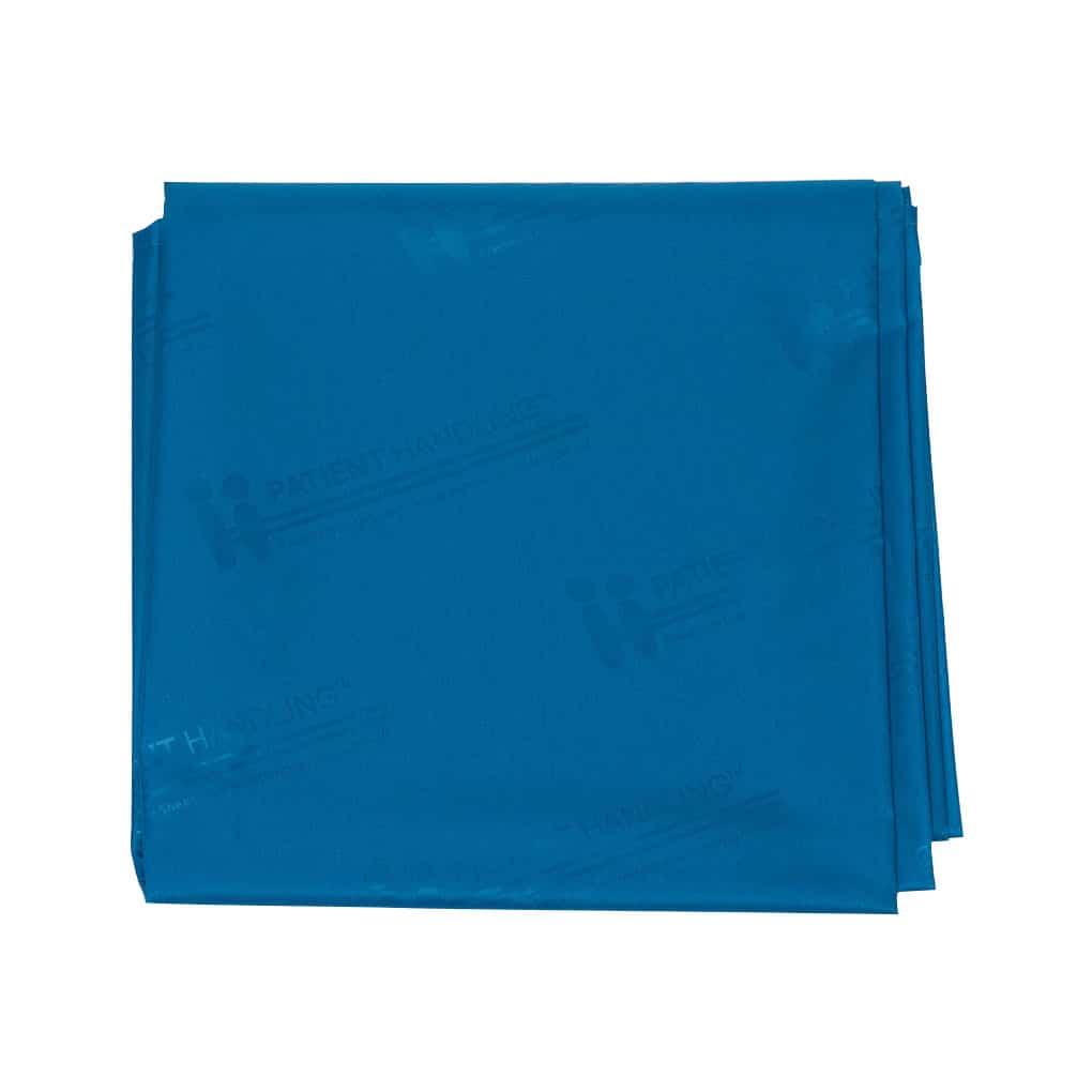 Patient Handling Slide Sheet - Blue Top Angle