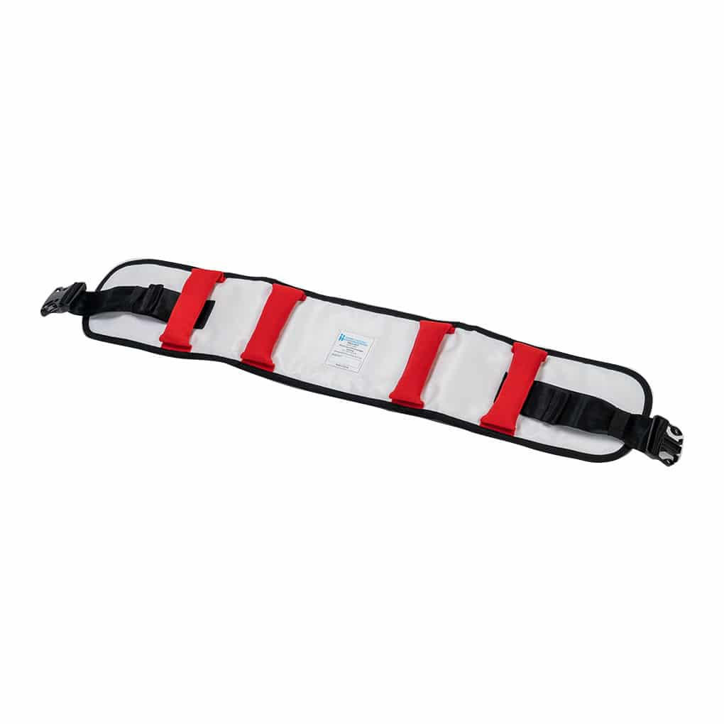 Patient Handling Walk Belt Red - Left Angle