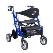 Airgo Fusion Side Folding Rollator and Transport Chair