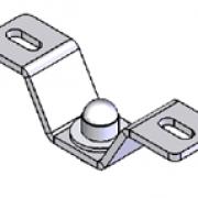 Molift Ceiling bracket set – 40 mm