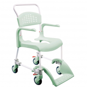 Etac Clean Mobile Shower Chair / Commode
