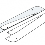 Molift Set of Covers for Switch rails