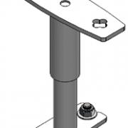 Molift Telescope Bracket Set  120-200 mm/190-250 mm